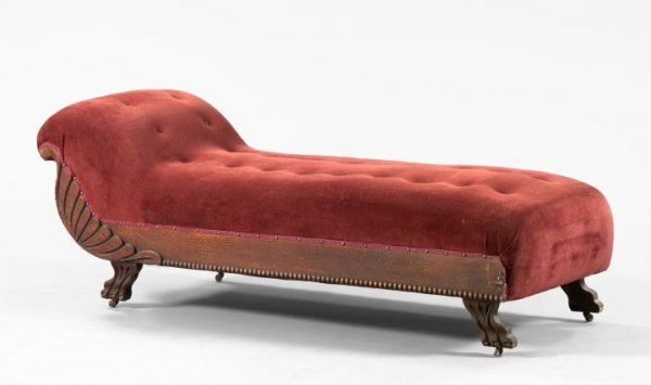 Fine 1336 American Late Victorian Oak Fainting Couch Chaise Beatyapartments Chair Design Images Beatyapartmentscom