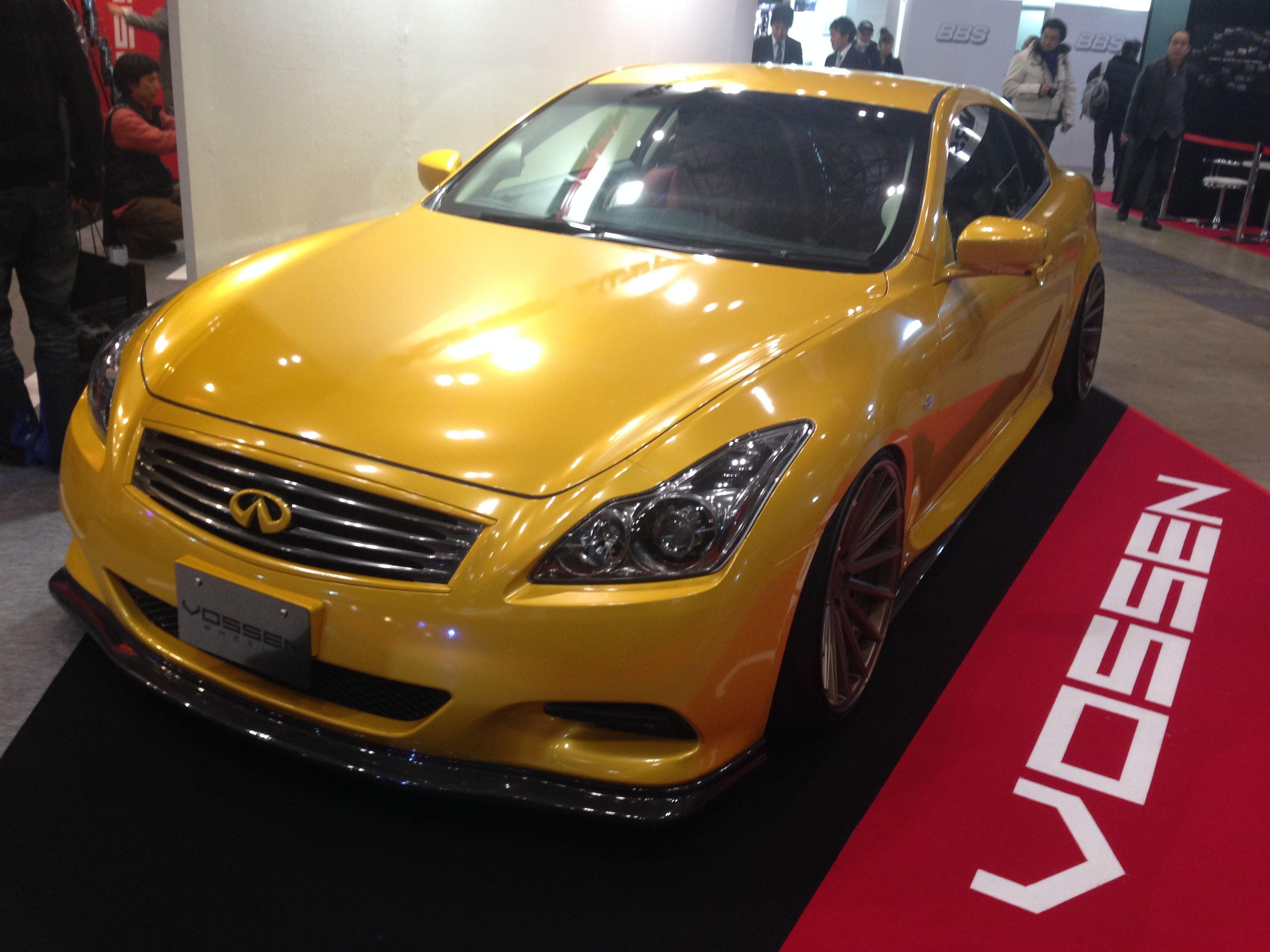 Tokyo auto salon 2014 infiniti g37 vossen world tour japan pinterest 2014 infiniti g37 infiniti g37 and q50
