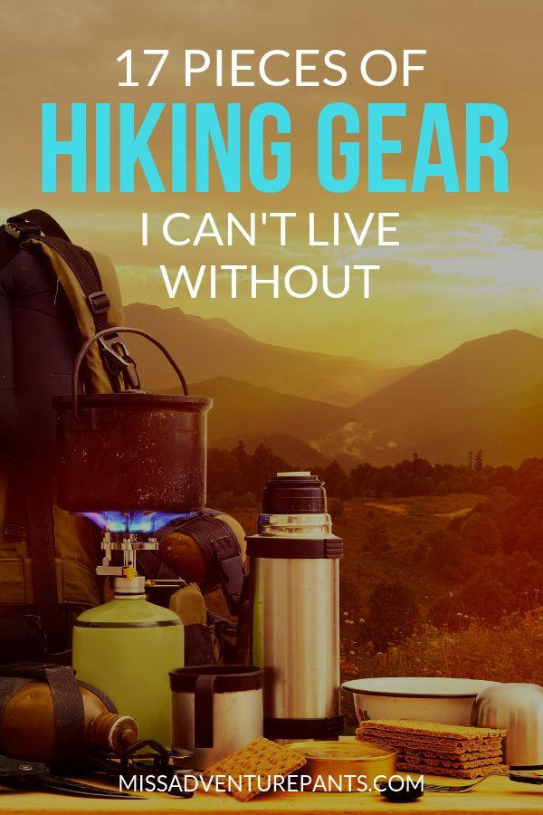Photo of Recommendations: Everything I need for hiking