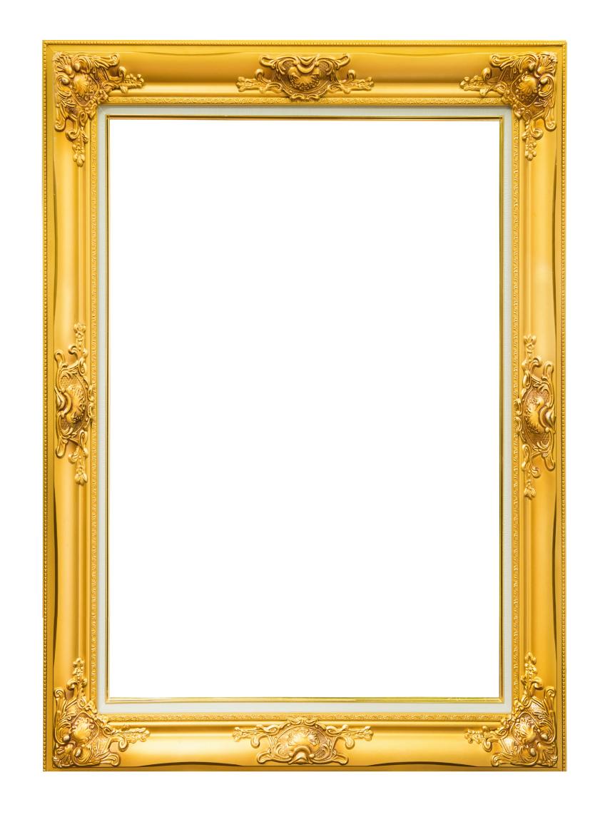 Marco Vintage Dorado mediano | idea cumple | Pinterest | Marcos ...
