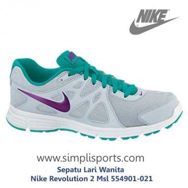 Sepatu Jogging Wanita Nike Revolution 2 Msl 554901 021 Ori