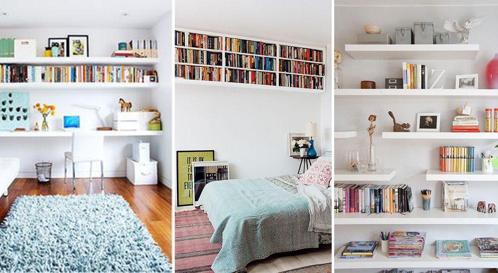 prateleiras planejadas para livros quarto  Pesquisa Google  Decoração Casa