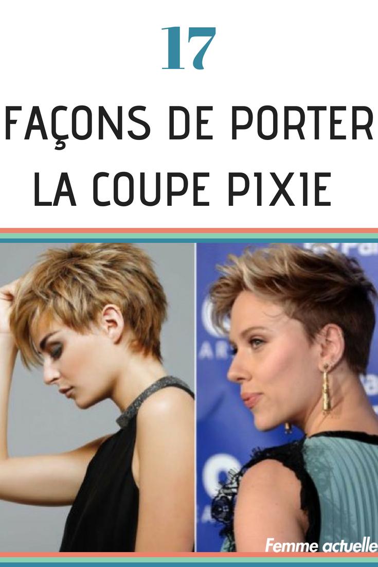 Coupe Courte 20 Facons De Porter La Coupe Pixie Coupe De Cheveux Coupe Pixie Les Coupes