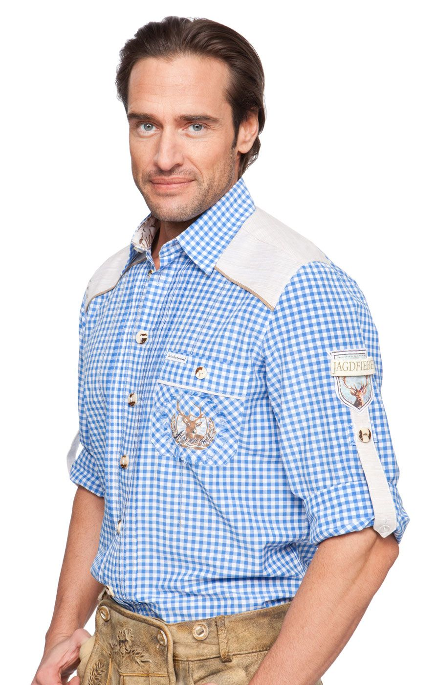Fuchs #Trachtenmoden Herren #Trachten Hemd: