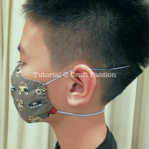 Face Mask Pattern Free Sewing Patter In 2020 Free Sewing Mask