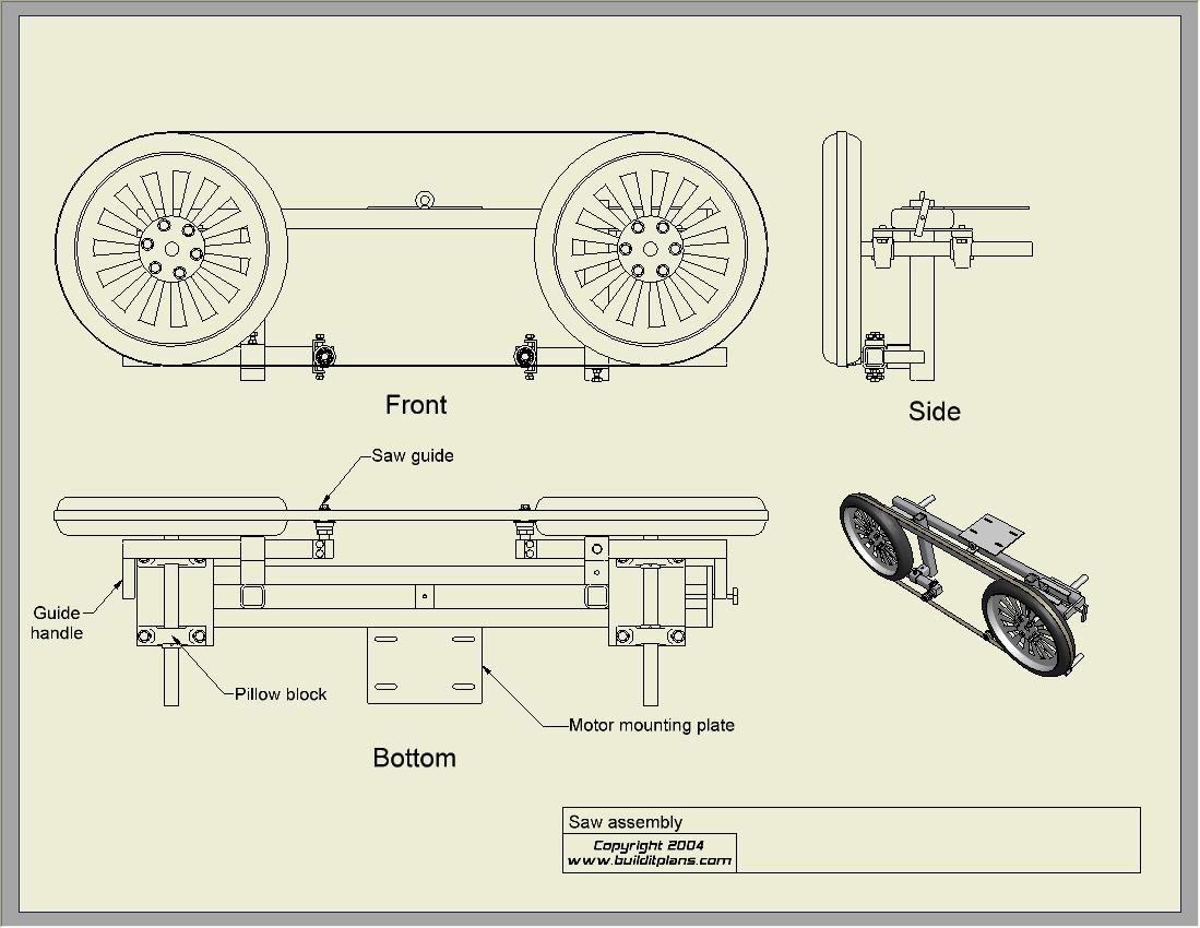 Portable Sawmills Sawmill Plans by Procut Portable Sawmills
