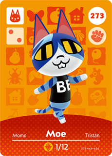 card Julia 29 Tobidase Animal Crossing amiibo