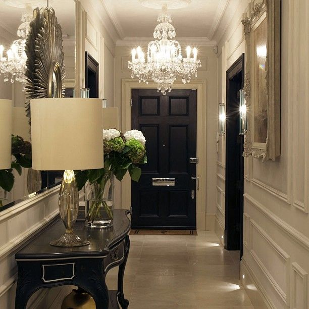 Lighting Basement Washroom Stairs: Love The Black Trim Opening On The Right