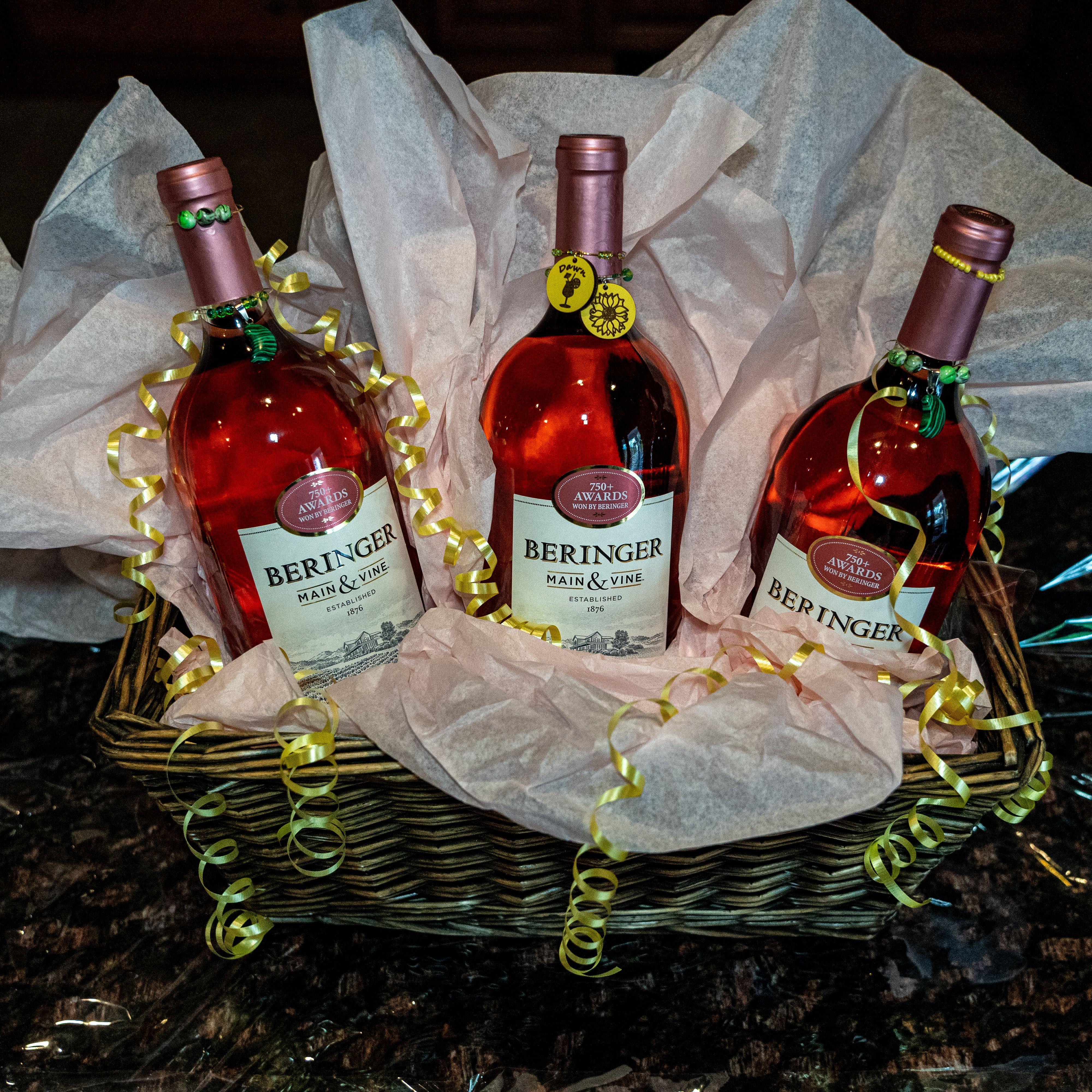 Wine Charm Gift Basket In 2020 Wine Charms Handmade Charm Gift