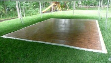 fold up outdoor dance floor | portable dance floor rental is now ...