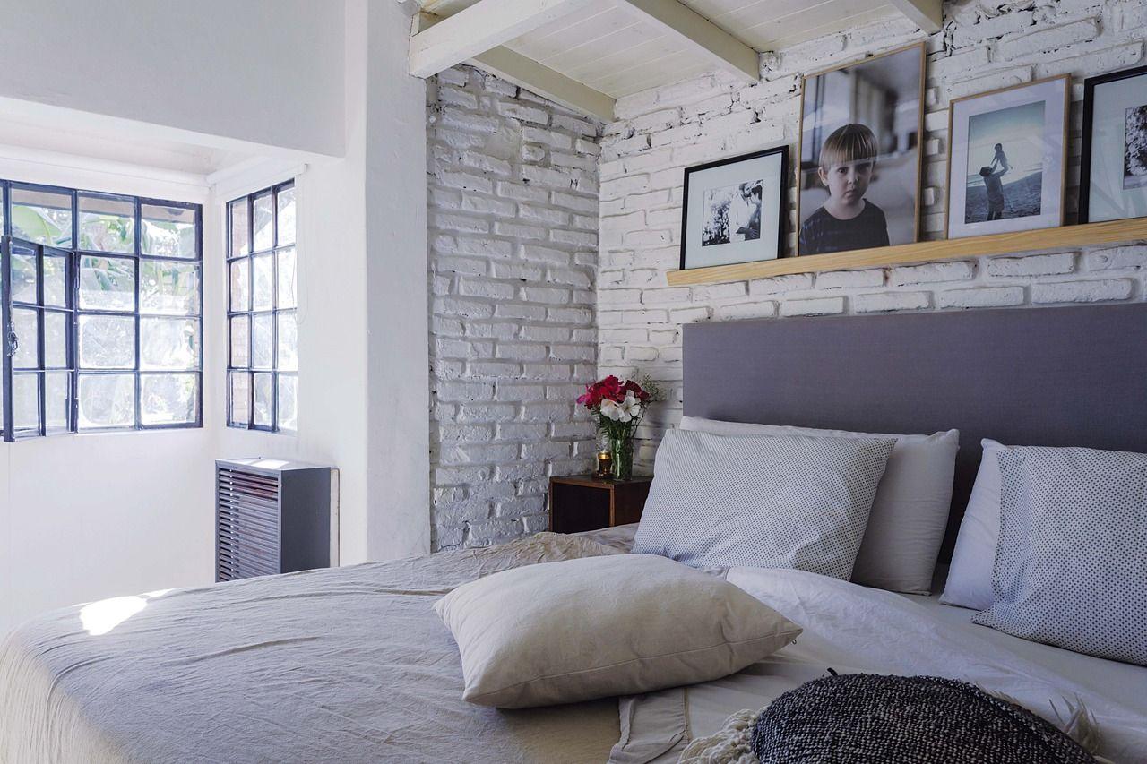 Una casa decorada con materiales fuera de lo común