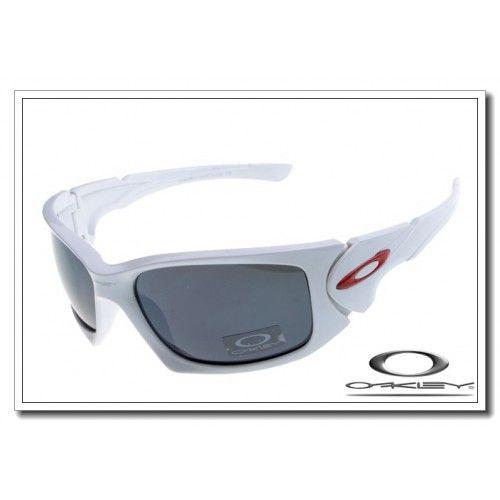 Oakley scalpel sunglasses matte white / black iridium