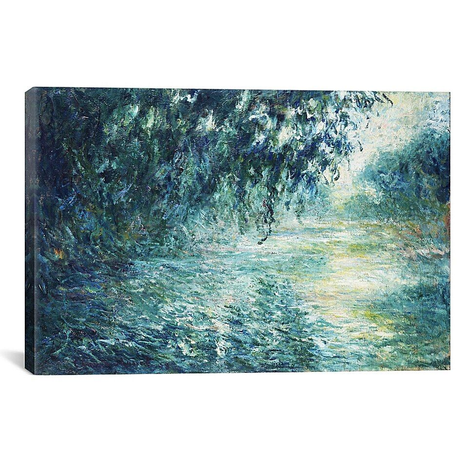 Icanvas Claude Monet Morning On The Seine, Near Giverny 8