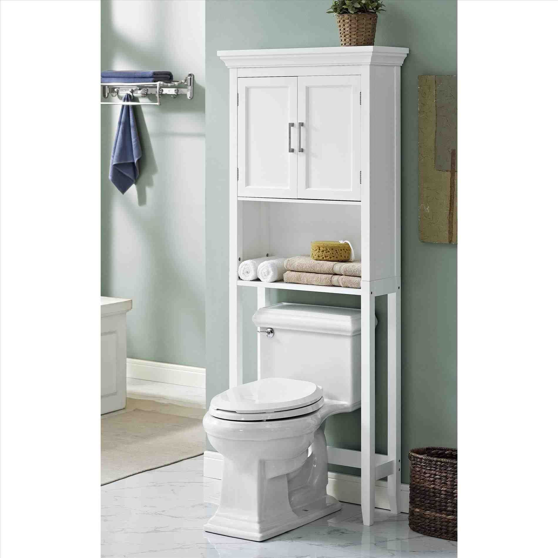 this towel cabinet above toilet space saving faux granite finish shelf fits wood bathroombathroom cabinets over toiletover full size of bathroom - Bathroom Cabinets That Fit Over The Toilet