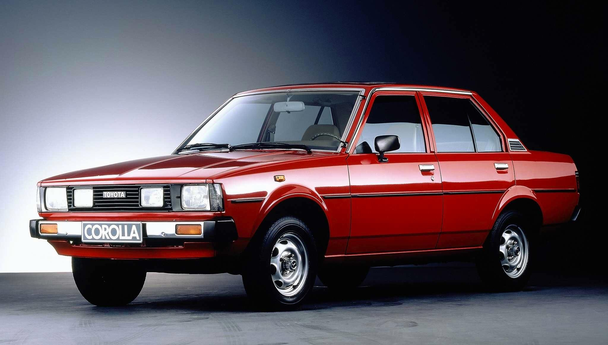 The 1980 model of the Toyota Corolla was a normal vision