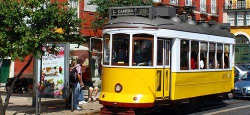 Lisbon tram number 28 guide Wanderlust Pinterest Portugal