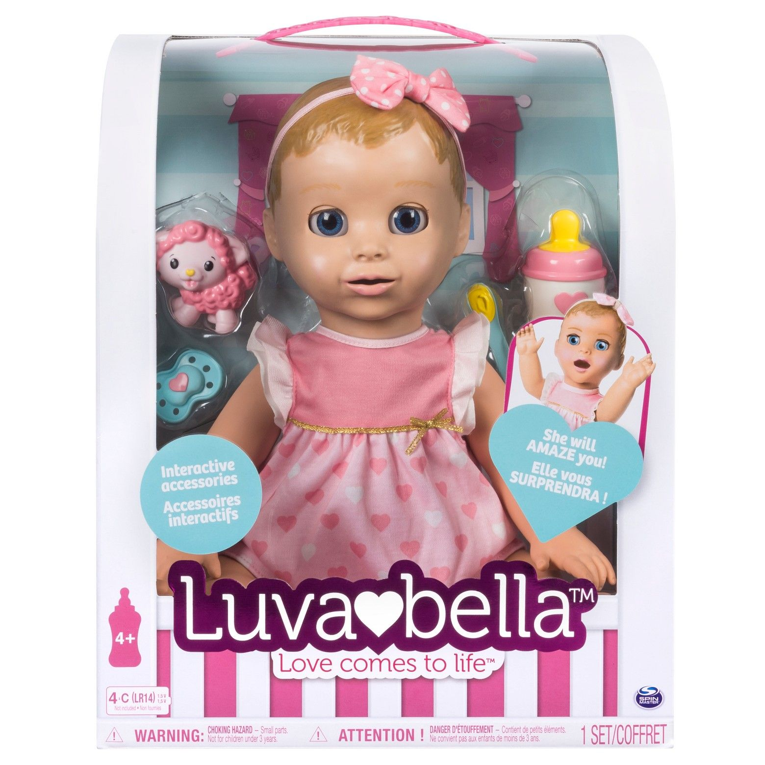 Luvabella Responsive Baby Doll With Realistic Expressions And Movement