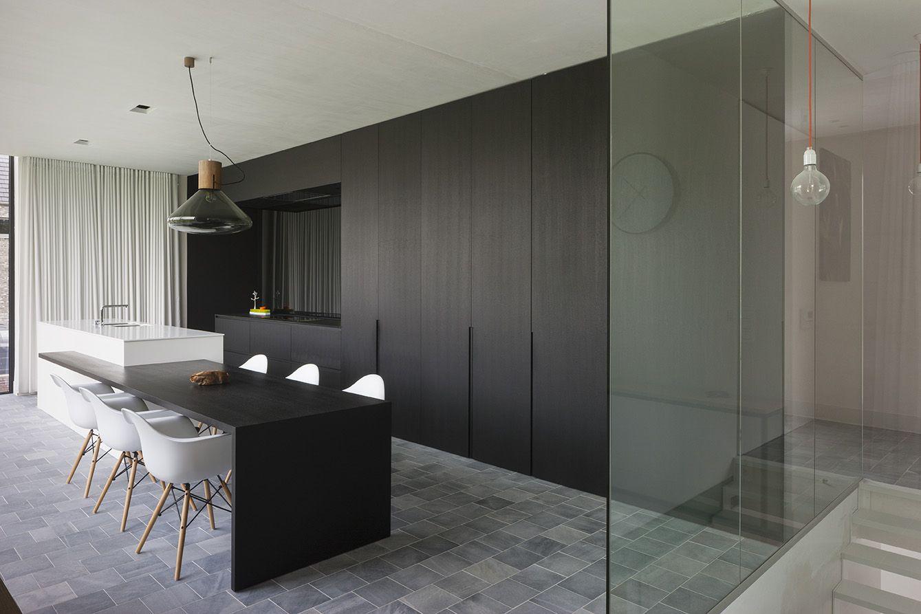 Moderne Kunst Keuken : Fotografie van nieuwbouwwoning voor architect. © fotos liesbet