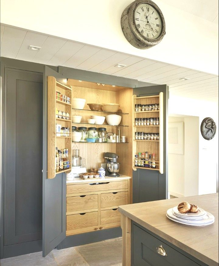 Latest Designs Pantry Cupboard: Amazing Kitchen With Built In Bakers Pantry.