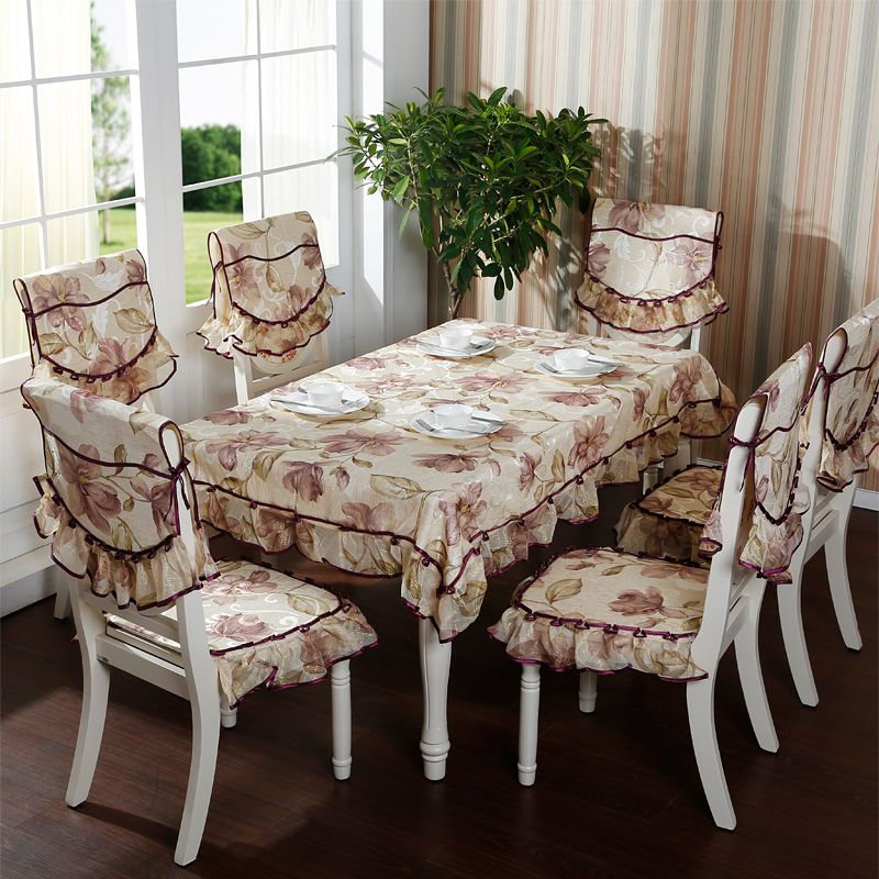 Rustic Quality Ubiquitous1 Jacquard Winter Cloth Dining Chair Pad Chair Cushion Thickening Chair Cover Wi Custom Dining Room Dining Chair Pads Home Room Design