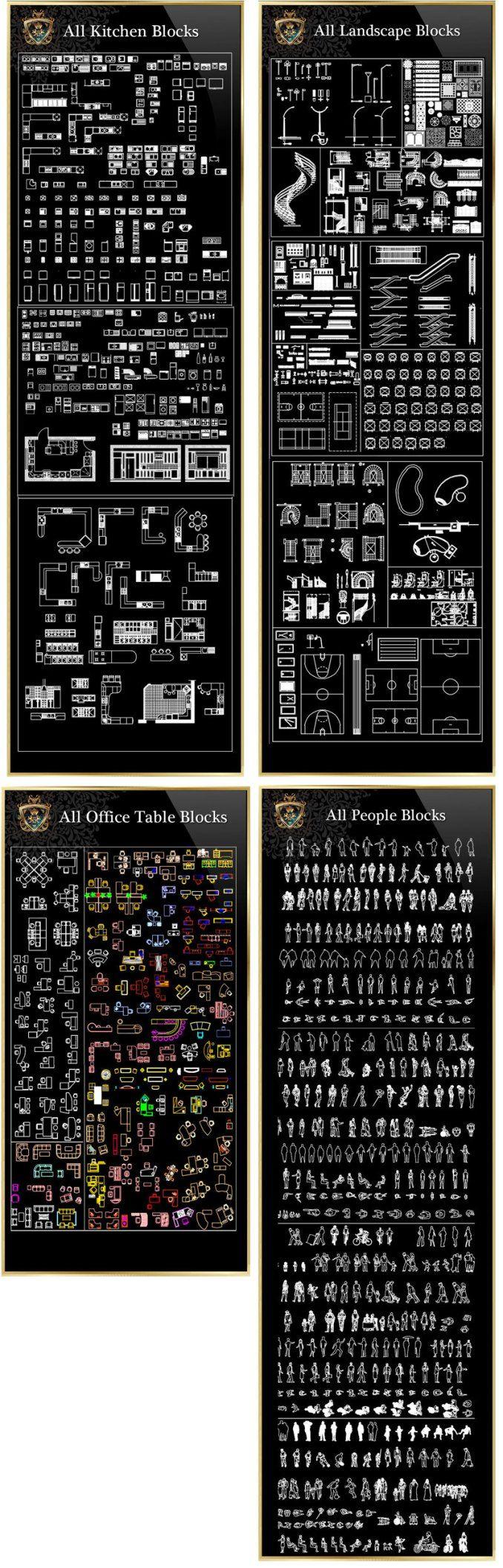 Interior Design Full Cad Blocks Collections Best Collections Free Cad Blocks Drawings