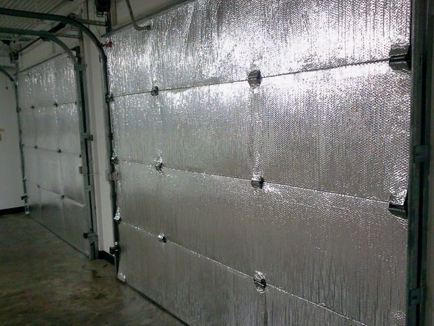 Make Your Garage Energy Efficient Easy Install Of Radiant Barrier