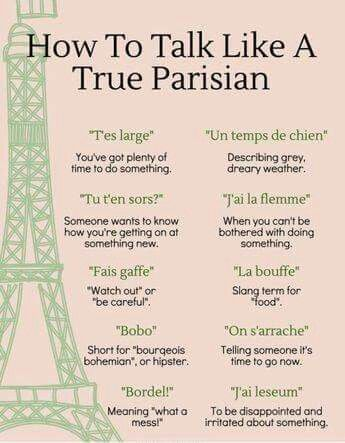 Phrases in french about love