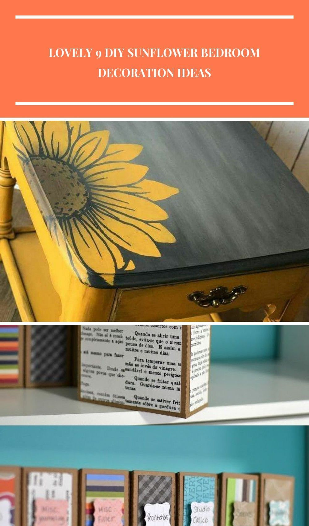 diy bedroom decor Lovely 9 DIY Sunflower Bedroom Decoration Ideas #sunflowerbedroomideas diy bedroom decor Lovely 9 DIY Sunflower Bedroom Decoration Ideas #sunflowerbedroomideas