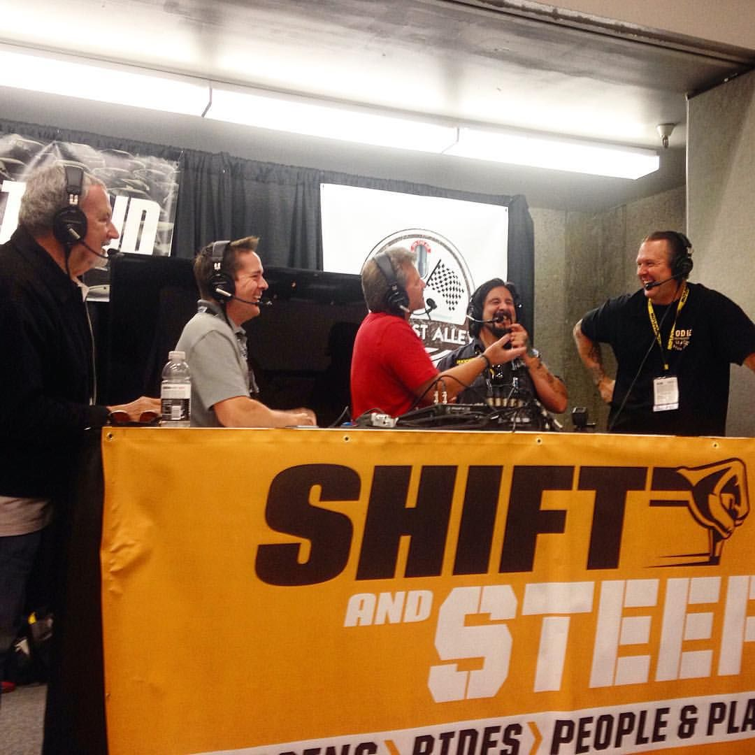 ShiftSteerMedia was LIVE this Afternoon at SEMA2015