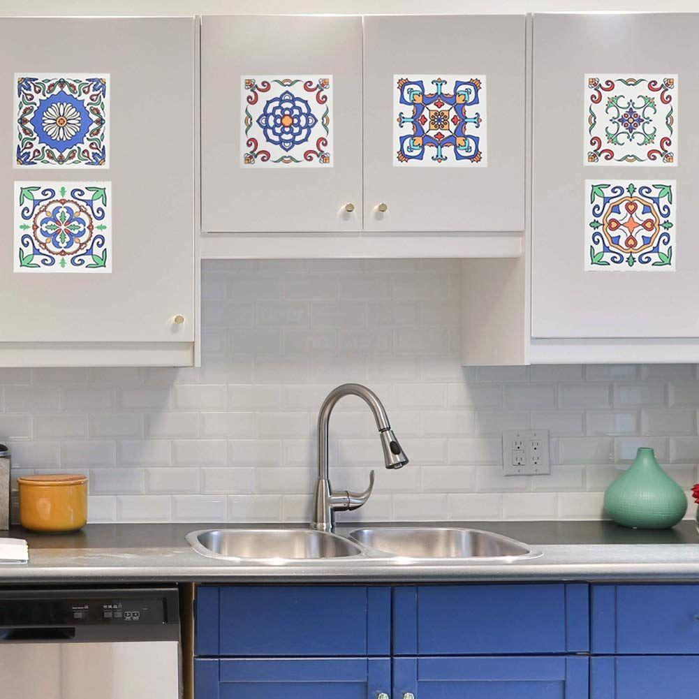 Piastrelle Pvc Adesive Cucina piastrelle adesive colorate | decorazioni, piastrelle