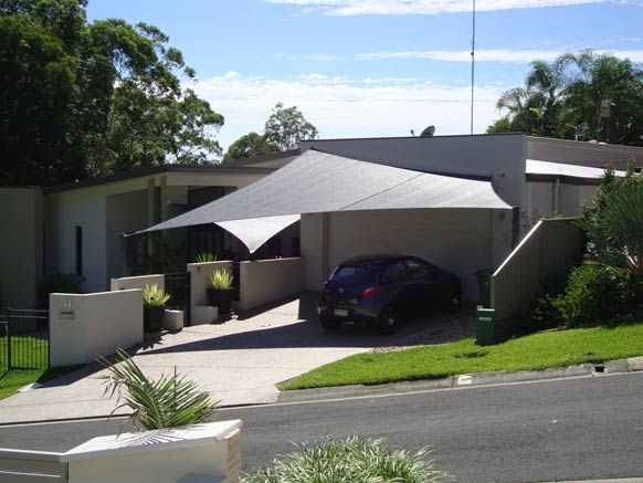 shade sails carport - Google Search | Home - Outdoor | Pinterest ...
