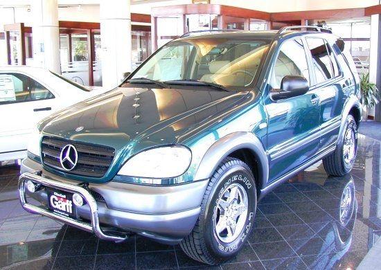 Salt Lake City Utah U S A Mercedes Benz Ml320 Emerald Green