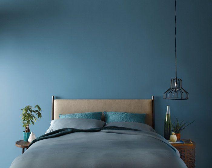1001 tendances cl s pour la peinture chambre adulte moderne en 2019 maison peinture - Plante verte chambre a coucher ...