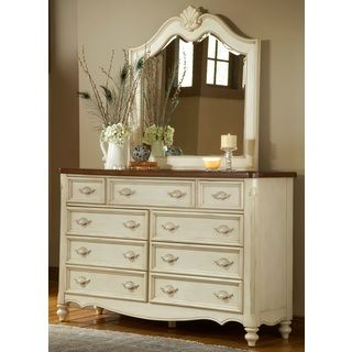 Crescent Manor 9 Drawer Dresser And Optional Mirror Ping Great Deals
