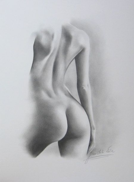 Nude Female Drawing 20