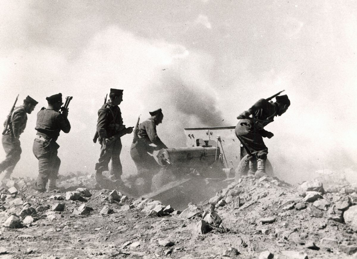 1st free french division during battle of bir hakeim in - French div 2 ...