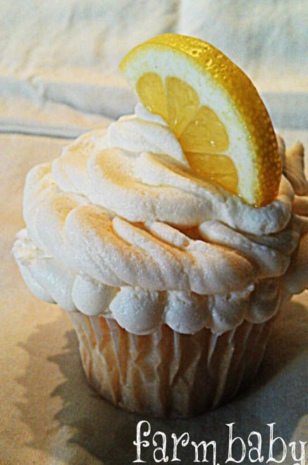 Lemon Cloud Cupcakes
