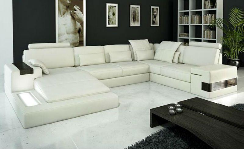 Latest Design Modern Sofa Luxury Large Siz Light L Shaped Corner
