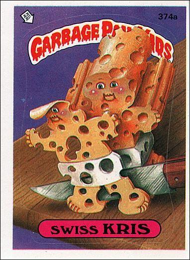 Garbage Pail Kids Series 09 374a A Jan 1987 Trading Card By Topps Garbage Pail Kids Garbage Pail Kids Cards Garbage