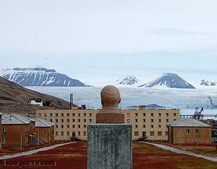La ciudad fantasma soviética a orillas del Polo Norte - Piramida