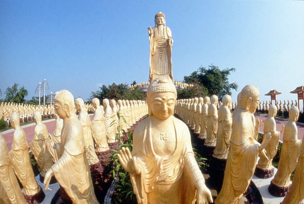 Fo guang shan monastery kaohsiung city buddhist monastery