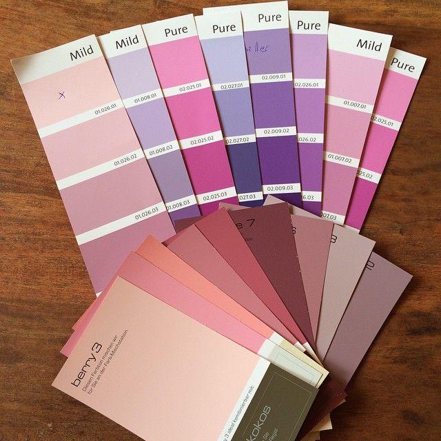 die qual der wahl... rosa für's schlafzimmer, lila für das ... - Rosa Wandfarbe Wohnzimmer