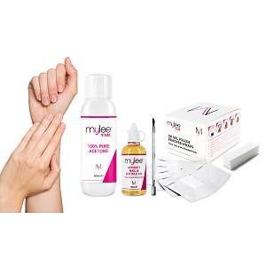 12 95 Mylee Five Piece Gel Removal Kit In 2020 Gel Nail Polish Remover Gel Nail Polish Gel Nails