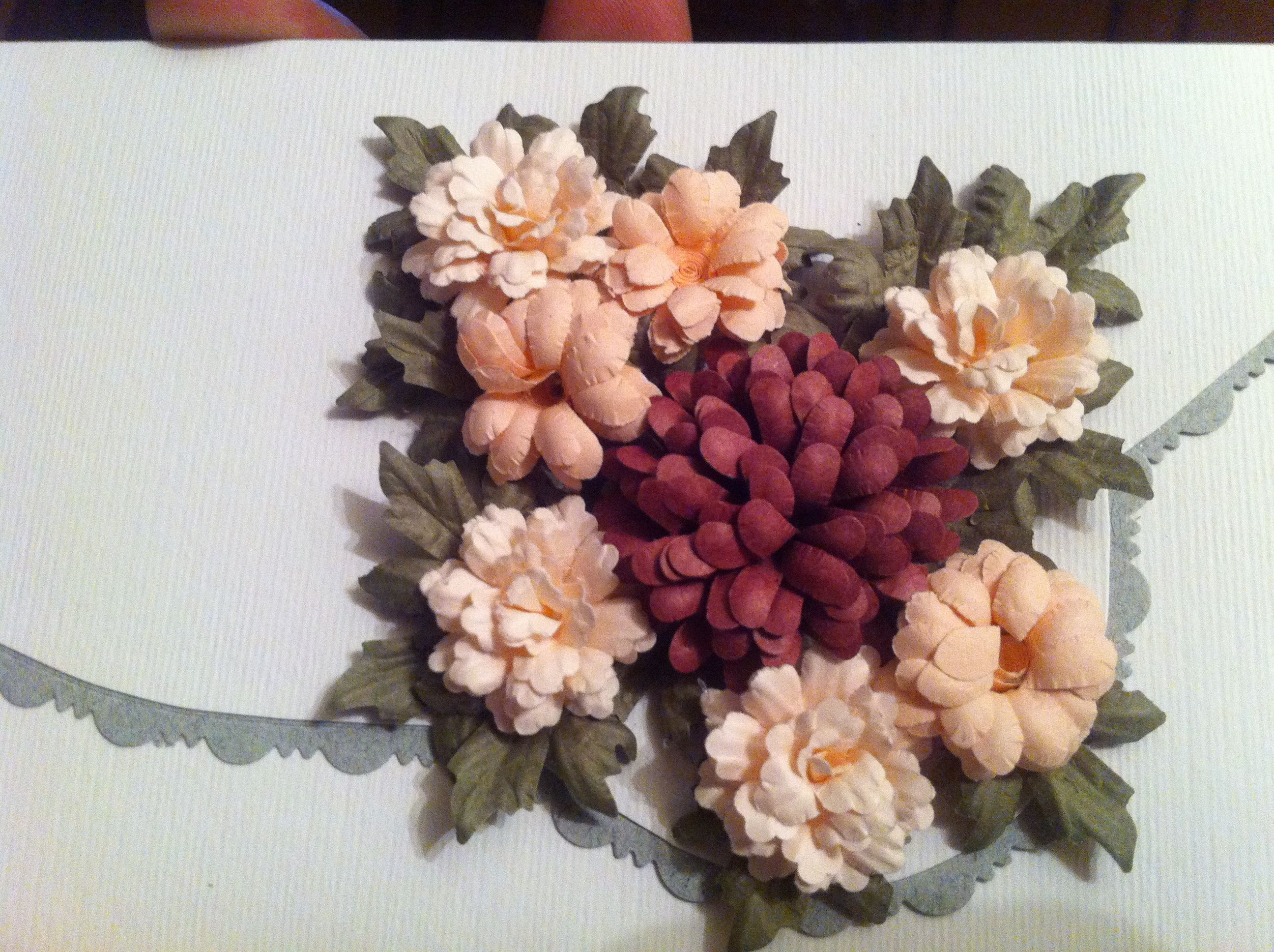 #Floral Punch Craft Creation