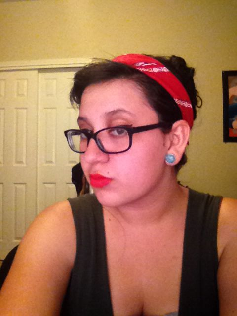 Tryin a new look #pinup#rockabilly