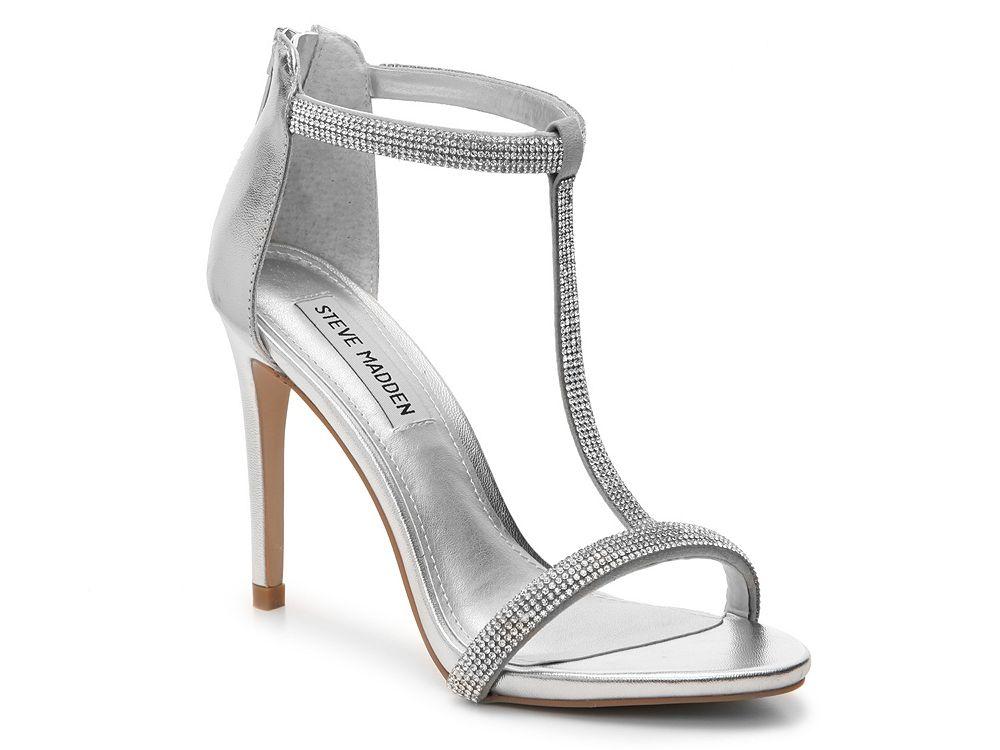 Steve Madden Faylinn Sandal · Prom ShoesWomen's ShoesSilver ...