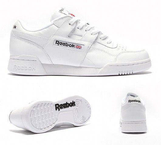 all white reebok workouts