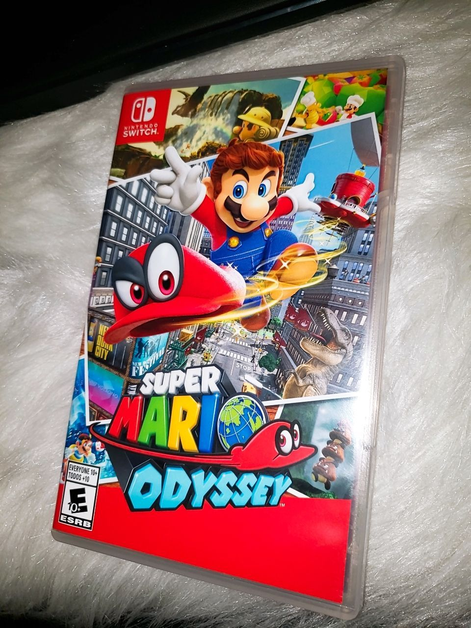 Check out my mario odyssey Nintendo switch Game ! Its like