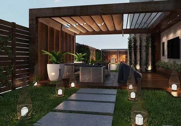 100 Wonderful Pergola Patio Design Ideas Page 8 Bloghenni Online Roof Garden Design Patio Design Modern Backyard Landscaping
