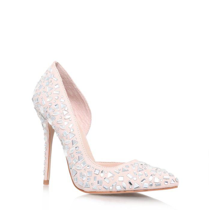 Carvela Glow Embellished Court Shoes At Brown Thomas